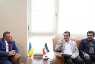 موثرترین راه همکاری کشور ایران و اکراین، از طریق اتاق های بازرگانی است